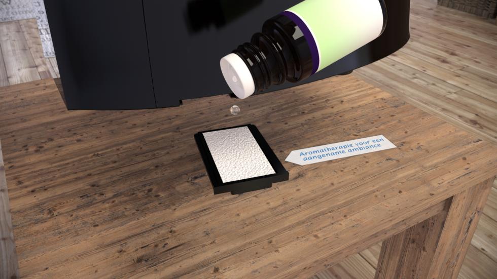 Aromatherapie met essentiële oliën van Clean Air Optima.