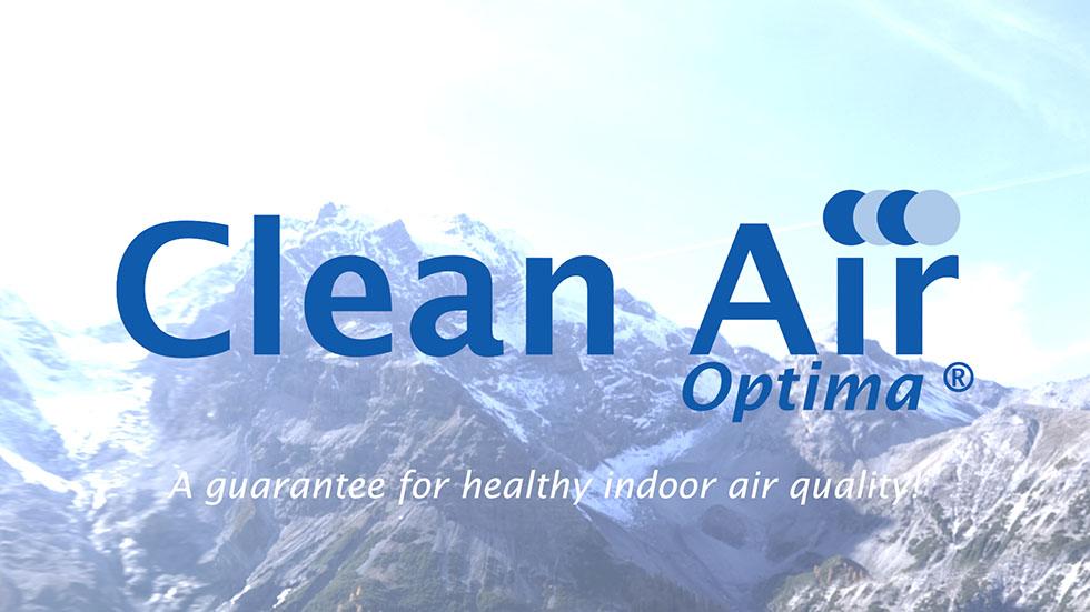 Ultrasone bevochtiging techniek Clean Air Optima CA-602 met koude mist en ionisator