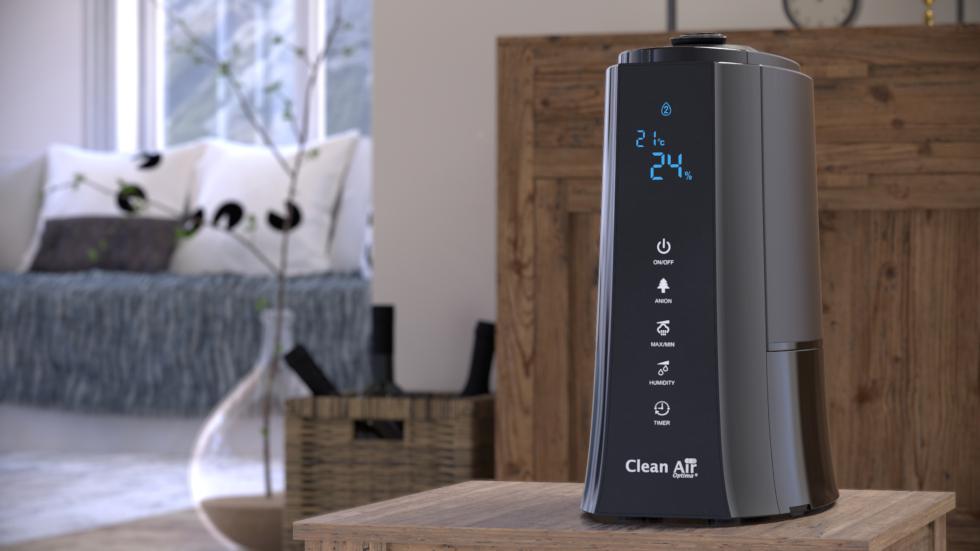 Ultrasoon luchtbevochtiger Clean Air Optima CA-603 met ionisator en aromatherapie