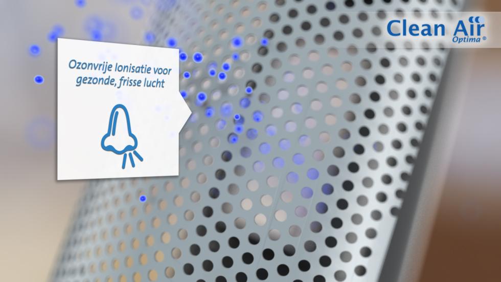 De HEPA UV ionisator luchtreiniger CA-508 van Clean Air Optima is een hightech product voor goede, zuivere, schone binnenlucht
