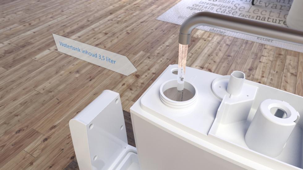 De Ultrasoon luchtbevochtiger Clean Air Optima CA-602 met koude verneveling, ionisator voor luchtreiniging en aromaverstuiving