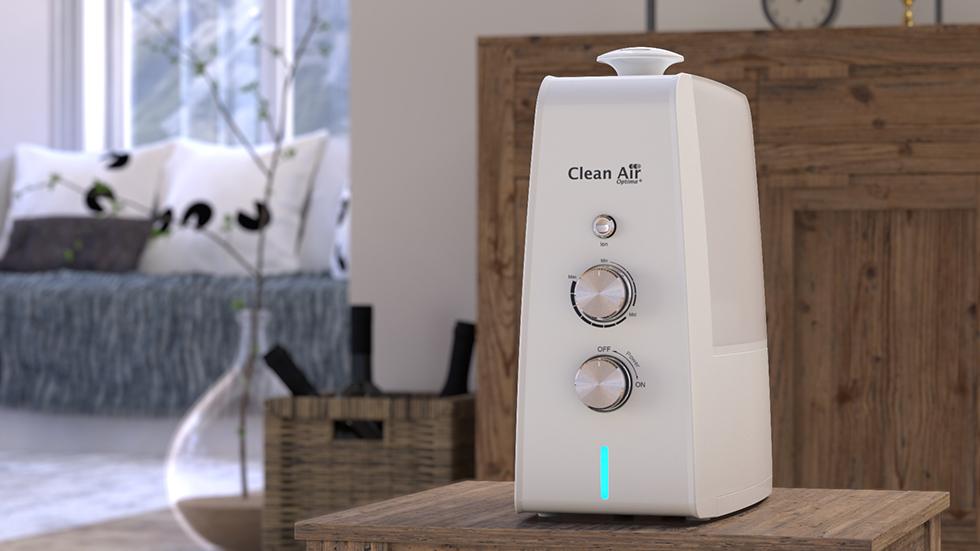 Ultrasoon luchtbevochtiger CA-602 met ionisator en aromaverstuiver.